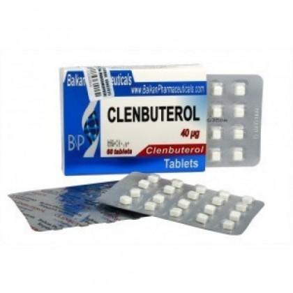 Clenbuterolo BP 40mcg (100 com)