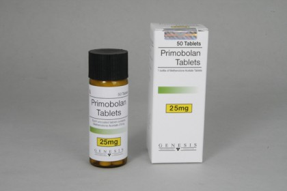 Primobolan compresse 25mg (50 com)
