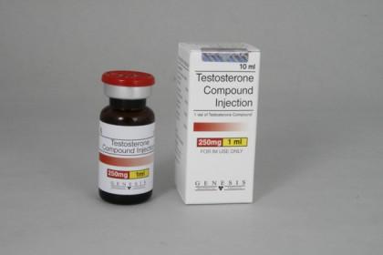Testosterone miscela iniezione 250mg/ml (10ml)
